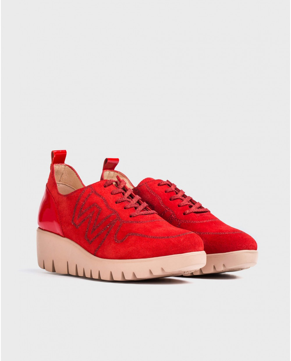 Wonders-Outlet-Sneaker with Logo