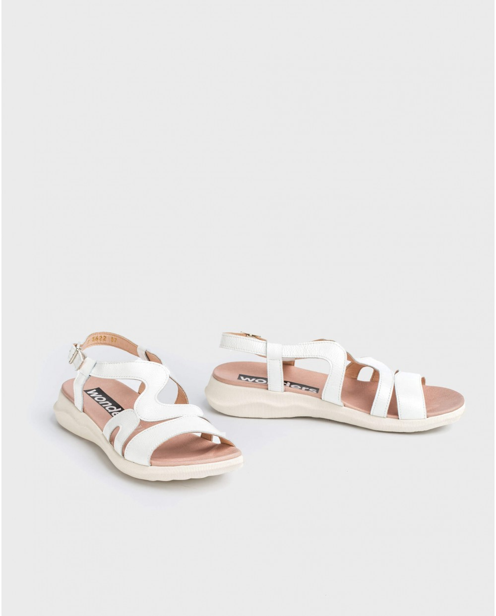 Wonders-Sandals-Sandal with zigzag strap