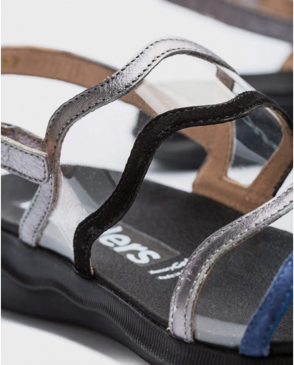 Wonders-Sandals-Sandal with vinyl detail