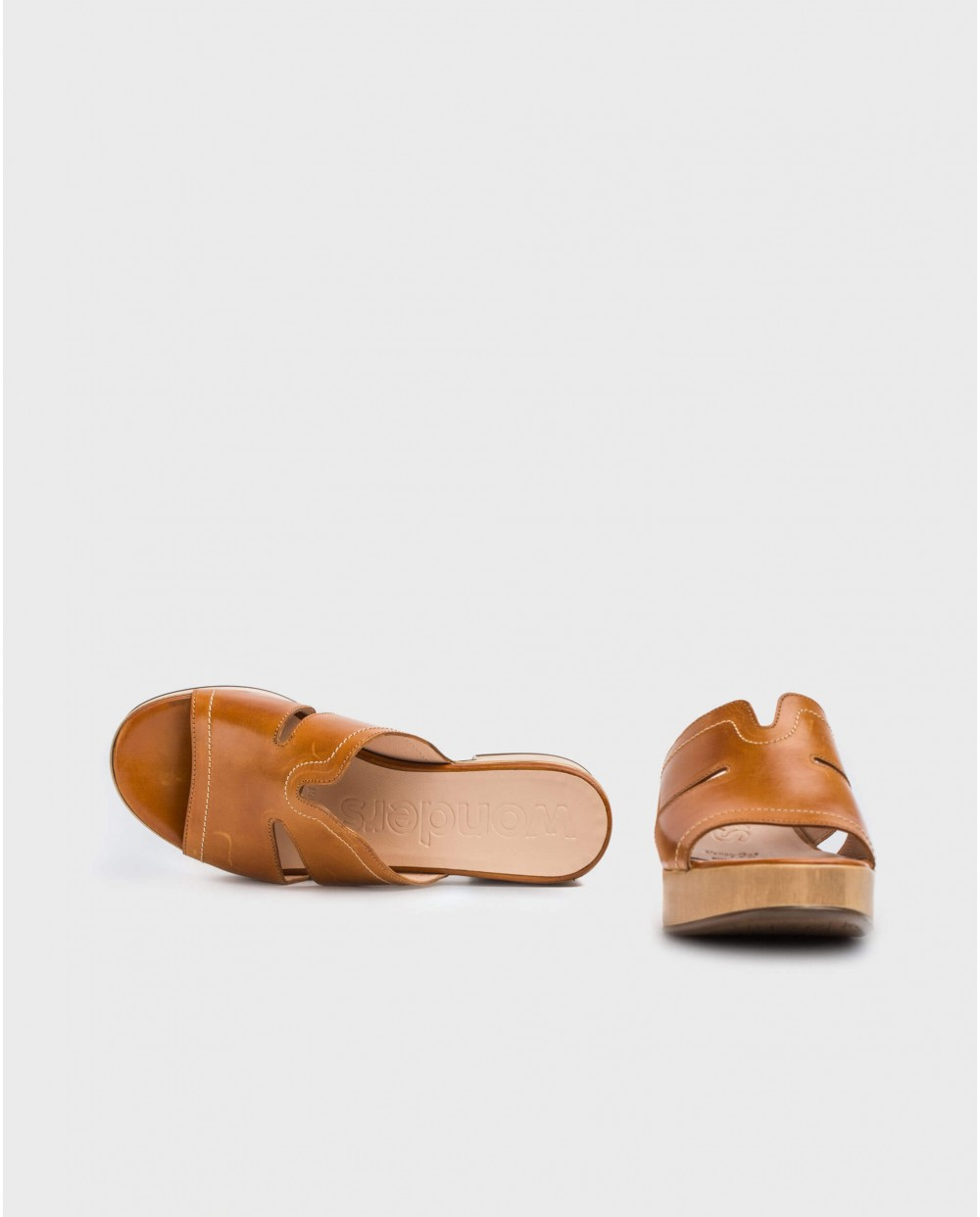 Wonders-Sandals-Sandal with side opening