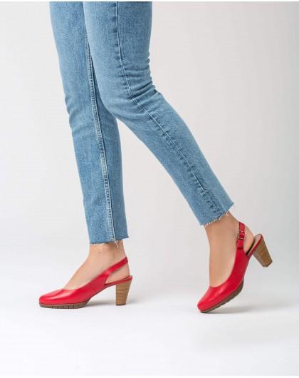 Wonders-Tacones-Zapatos de salón de piel