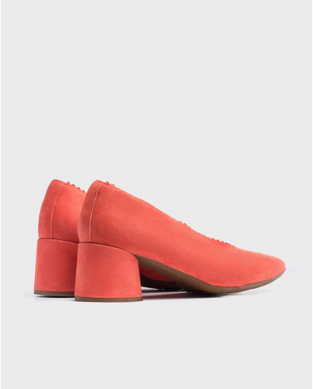 Wonders-Heels-Midi/heeled court shoe