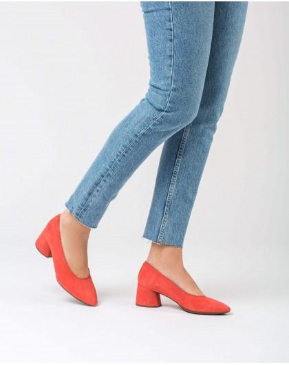 Wonders-Tacones-Zapato salón tacón midi