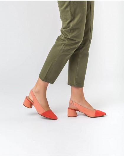Wonders-Tacones-Zapatos de piel bicolor
