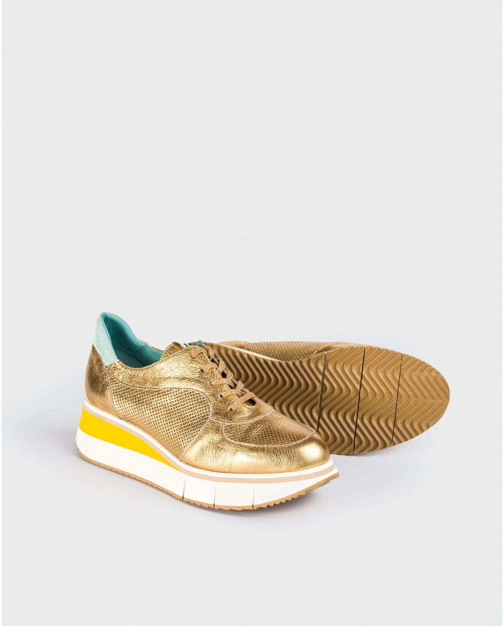 Wonders-Sneakers-Micro-perforated sneaker