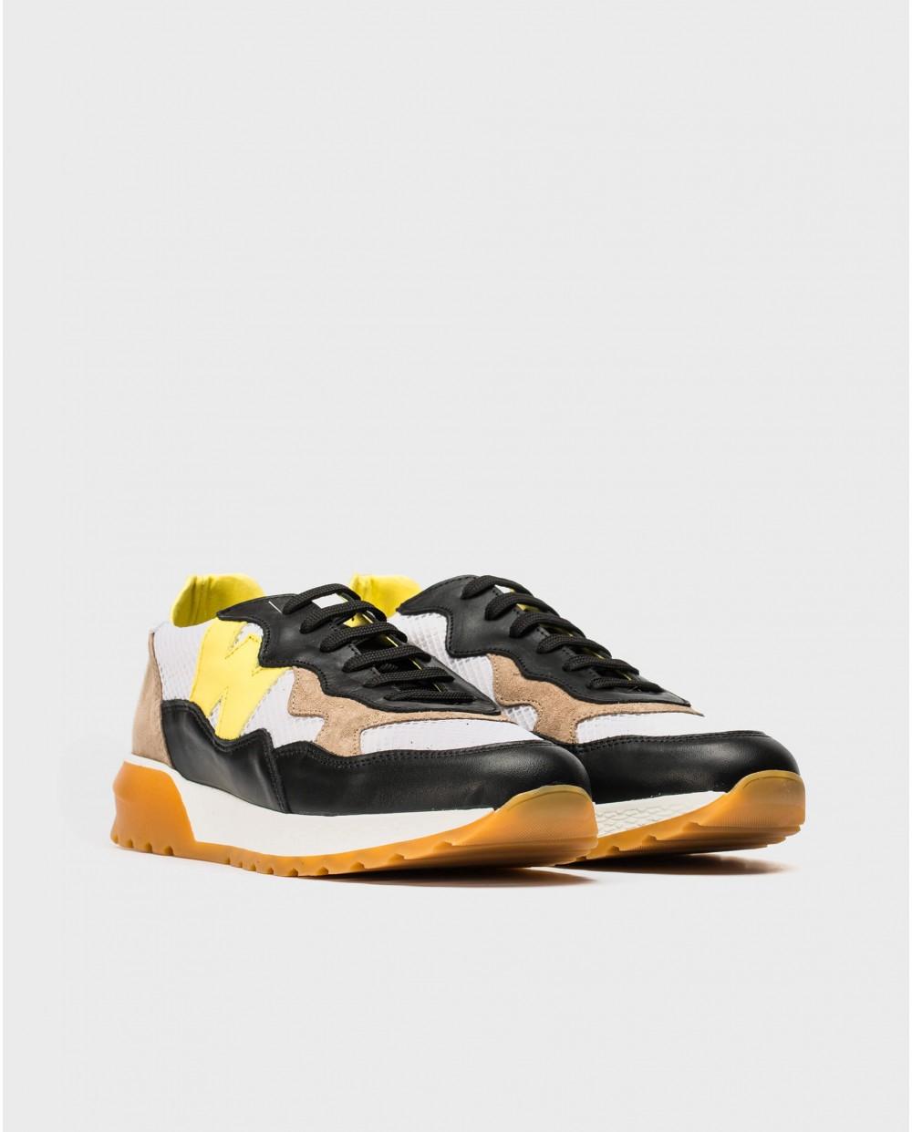Wonders-Sneakers-Sneakers with shoelace closure