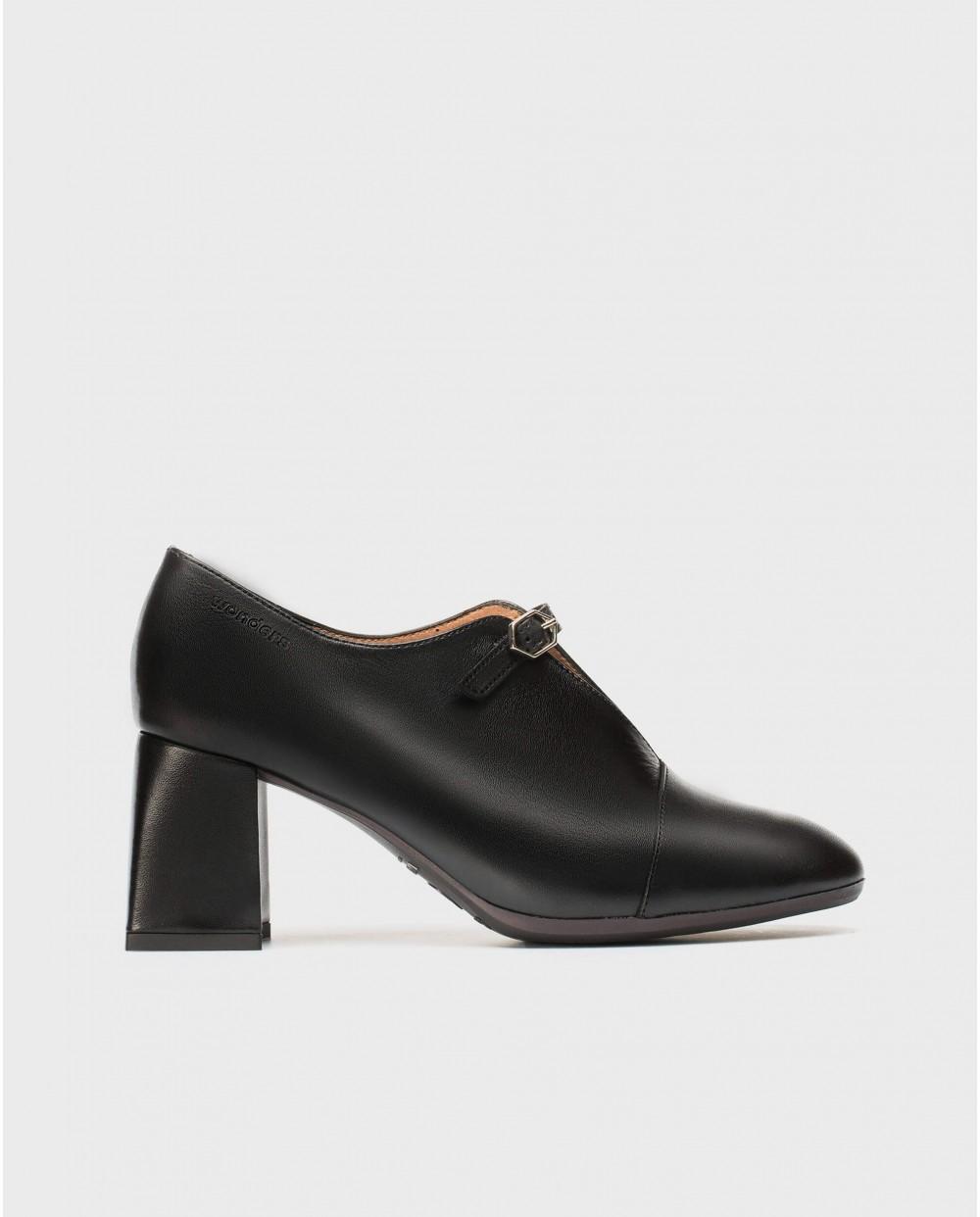Wonders-Heels-High heeled shoe with buckle