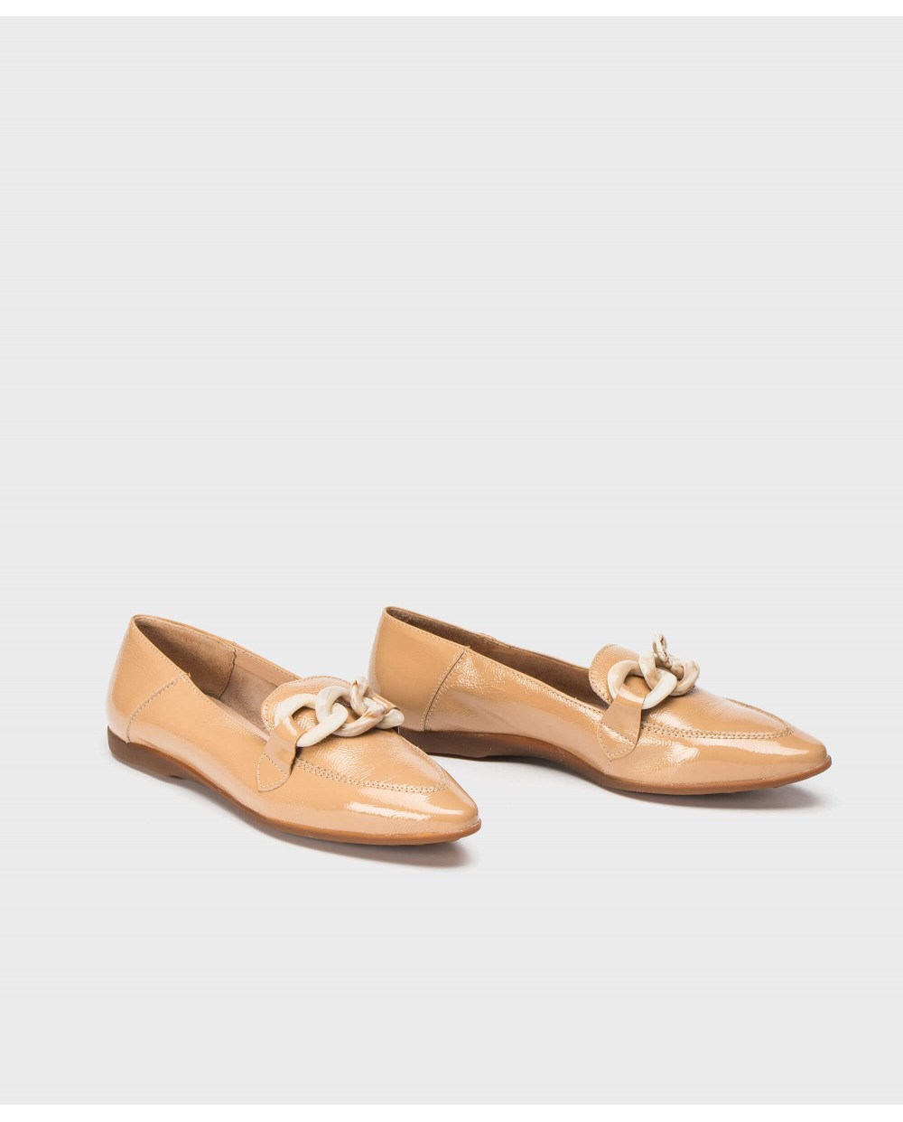 Wonders-Outlet-Moccasin inspired ballet pump