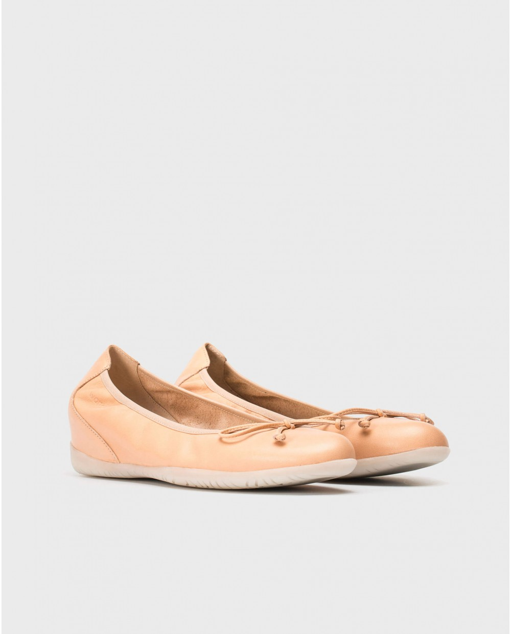Wonders-Outlet-Ballet pump with bow detail