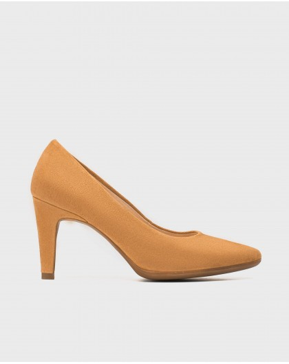 Suede High heeled shoes