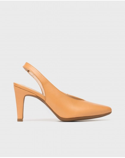 Wonders-Heels-High heeled backless shoe