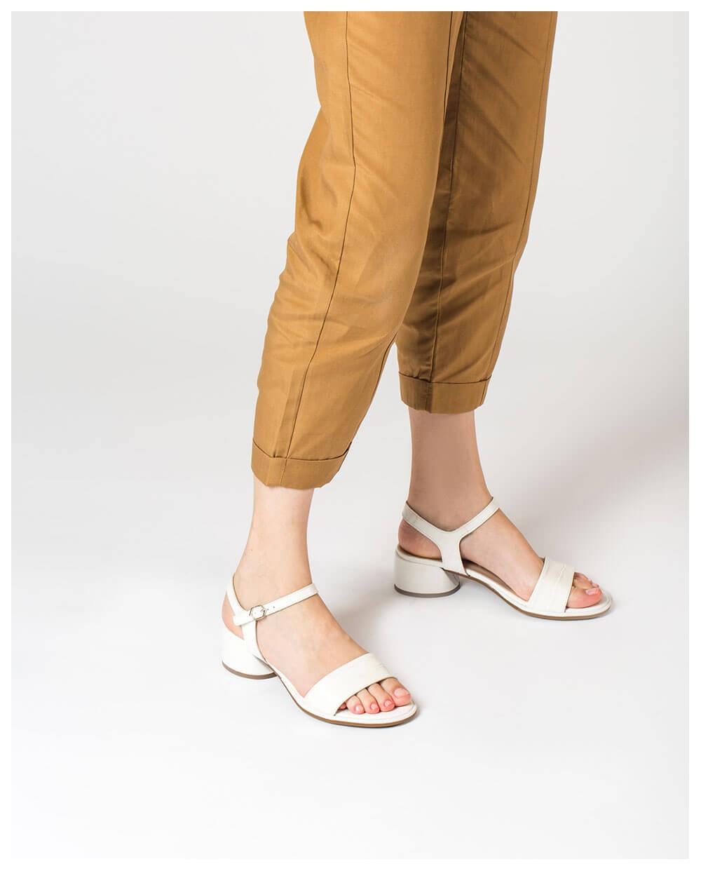 Wonders-Sandals-Mock croc leather sandal