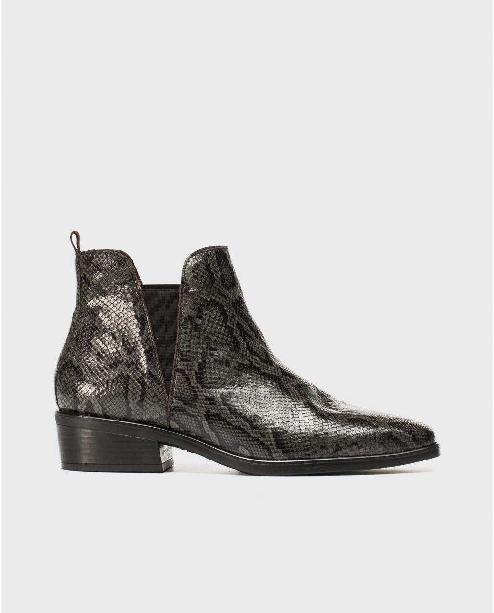 Wonders-Ankle Boots-Animal print ankle boot