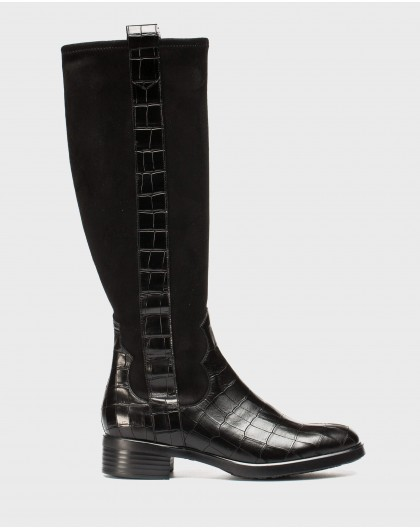 Wonders-Outlet-Flat elastic boot