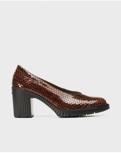 Wonders-Tacones-Zapato con escote