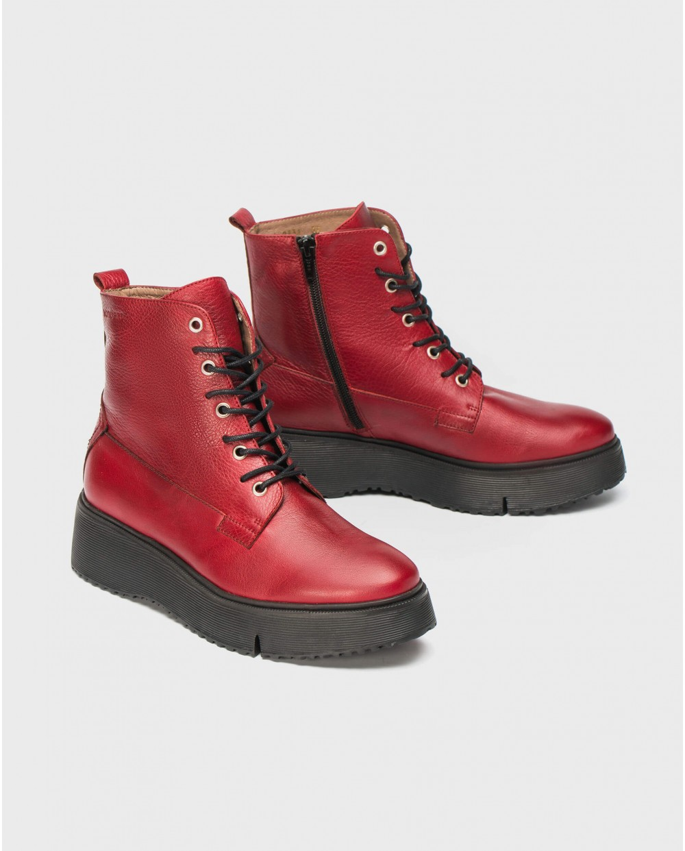 Wonders-Ankle Boots-Ankle boot Bristol red