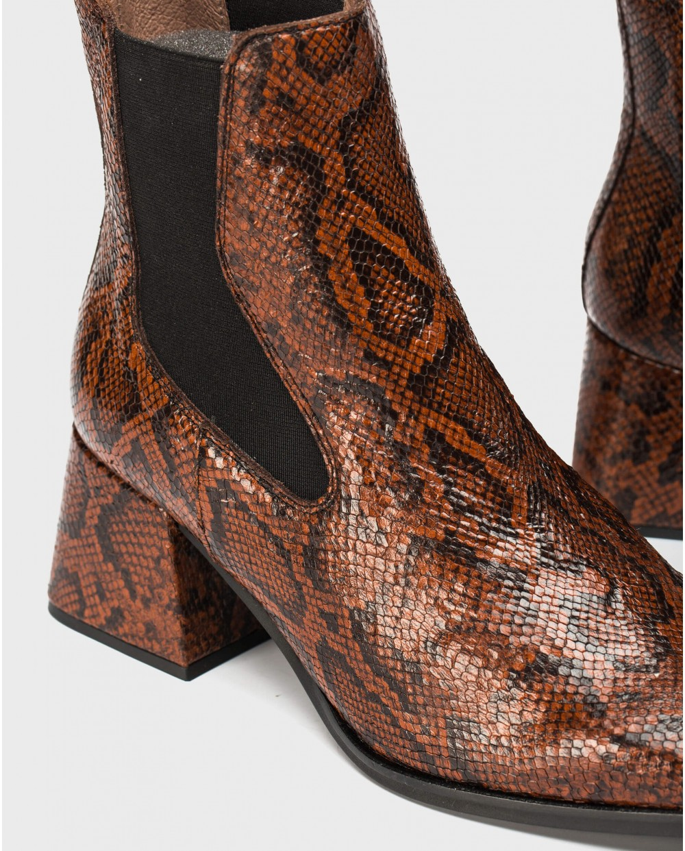 Wonders-Ankle Boots-H-4305