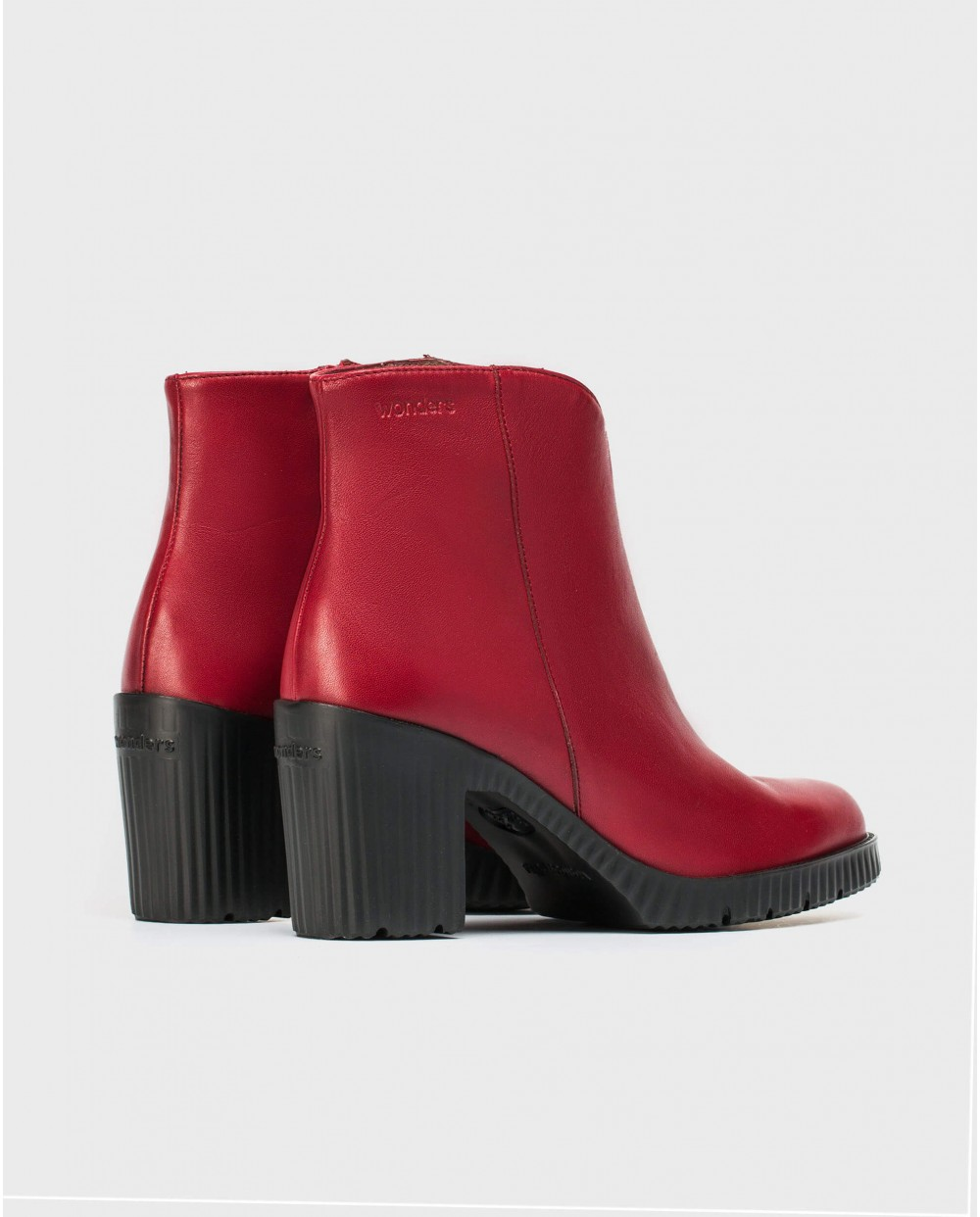 Wonders-Ankle Boots-Soft platform ankle boot