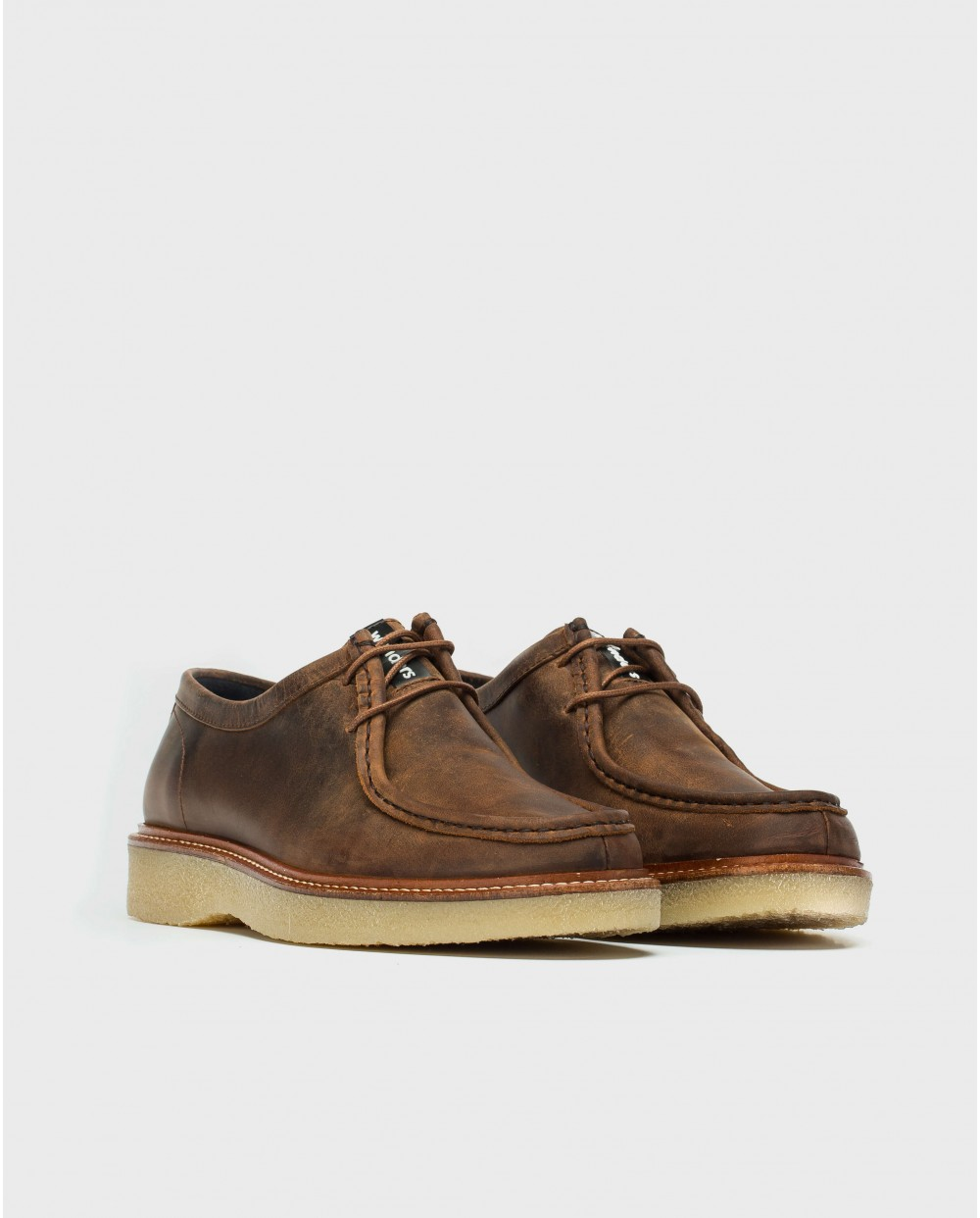 Wonders-Sneakers-Leather Wallabee shoe