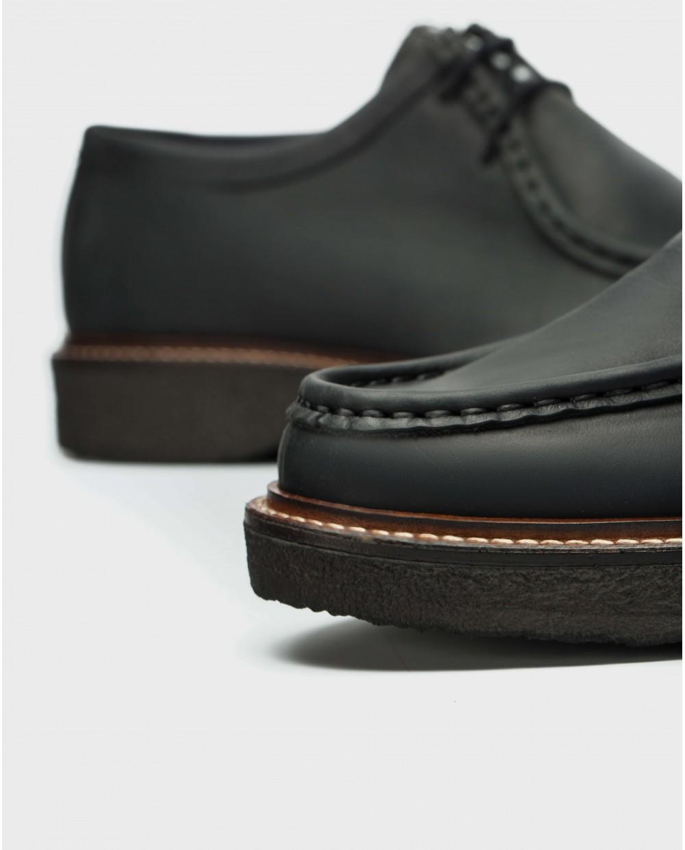 Wonders-Sneakers-Leather Wallabee shoe
