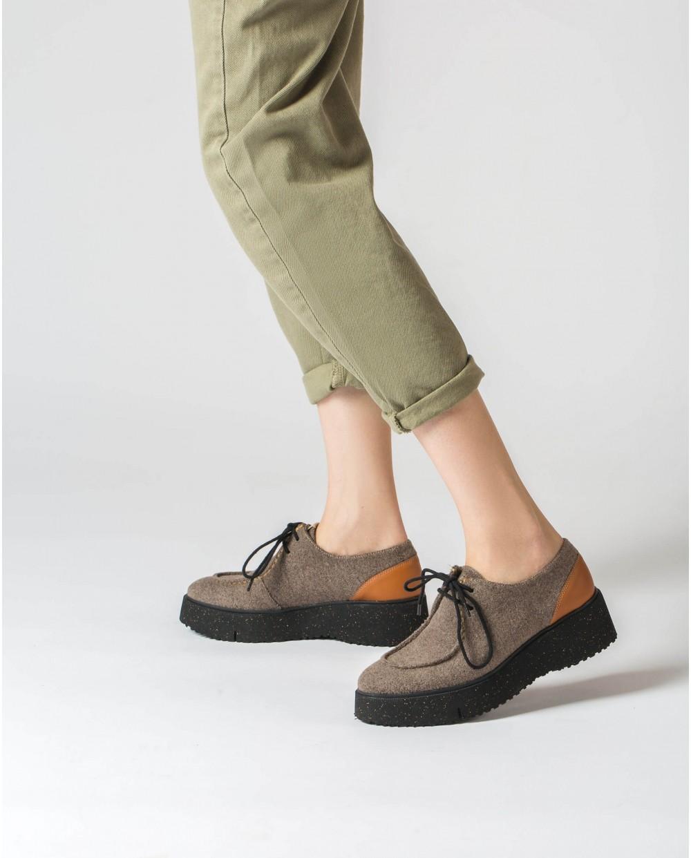 Wonders-Flat Shoes-Eco Walabee shoe