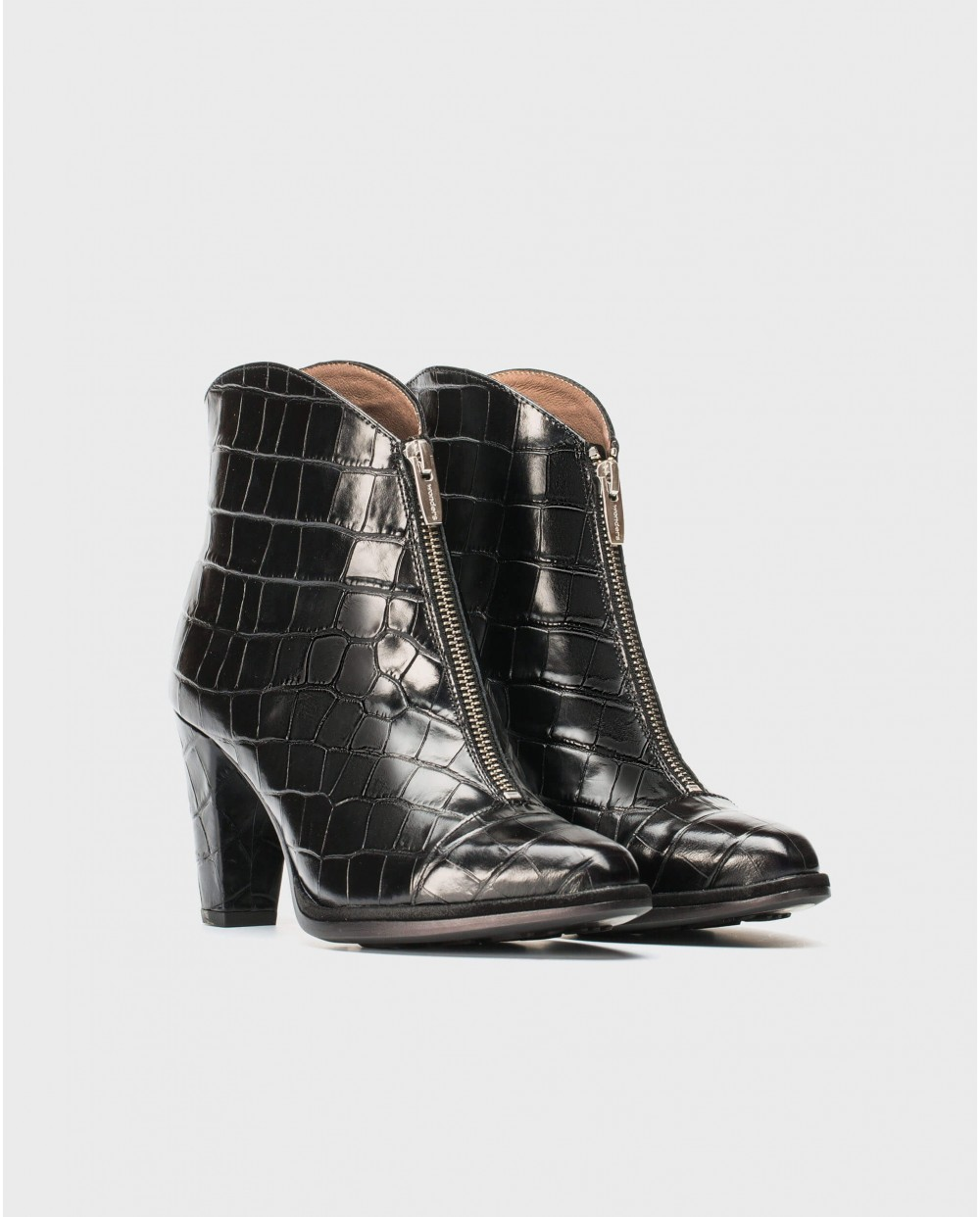 Wonders-Ankle Boots-ankle boot with zip