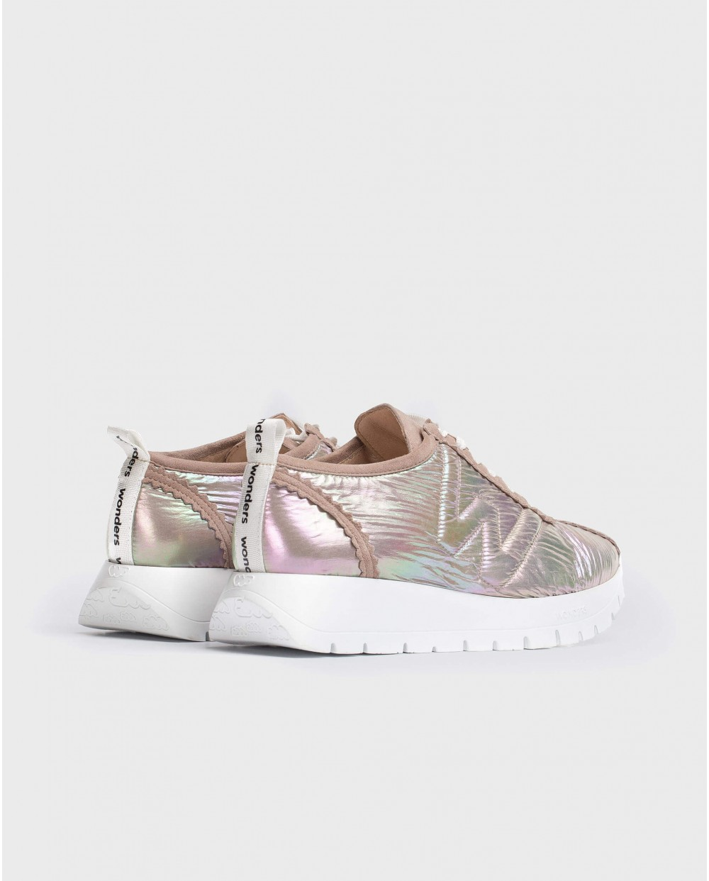 Wonders-Outlet-Sneaker with shoelaces