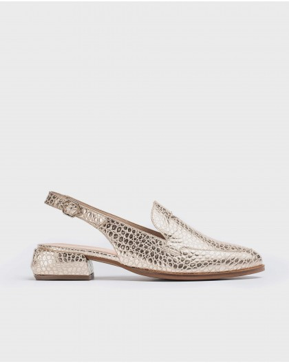 Wonders-Flat Shoes-Geometric cut shoe