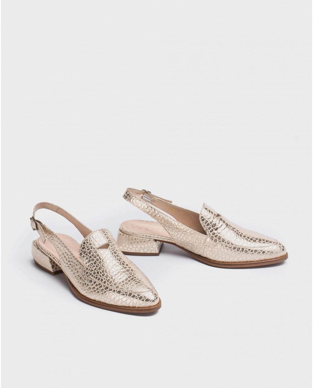 Wonders-Women-Geometric cut shoe