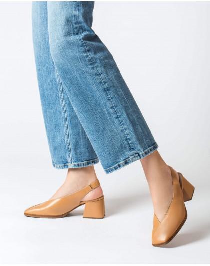 Wonders-Tacones-Zapato piel corte V