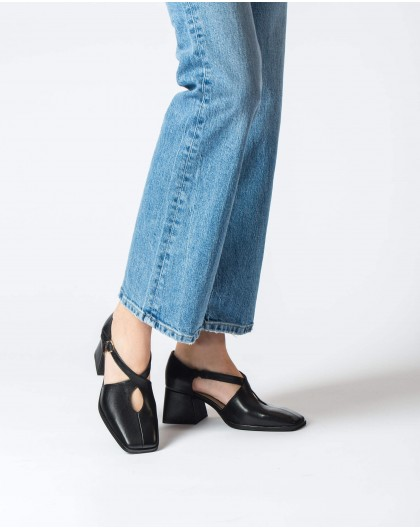 Wonders-Tacones-Zapato tiras cruzadas