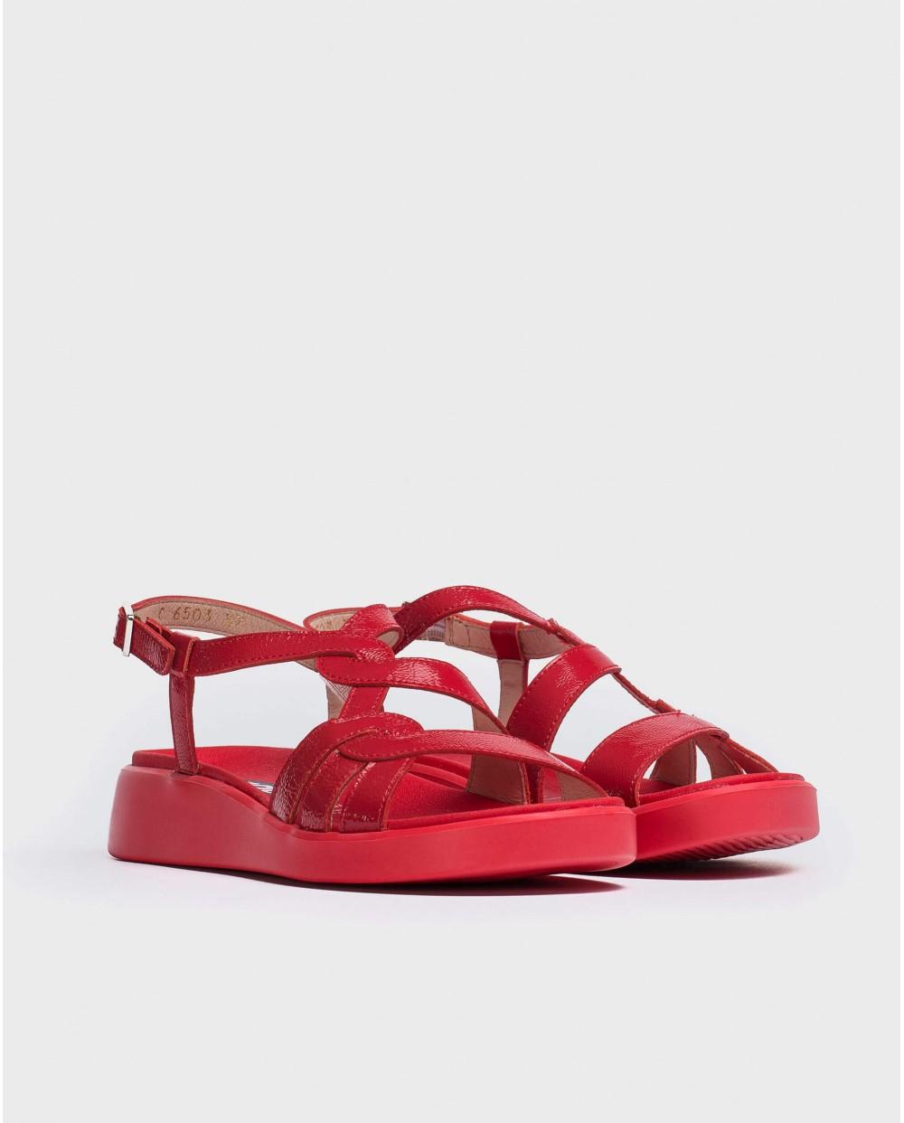 Wonders-Sandals-Sandal with crossed straps