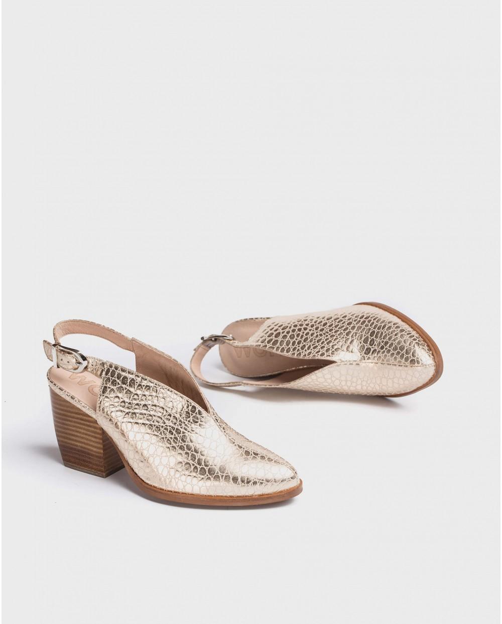 Wonders-Women-Leather cowboy shoe