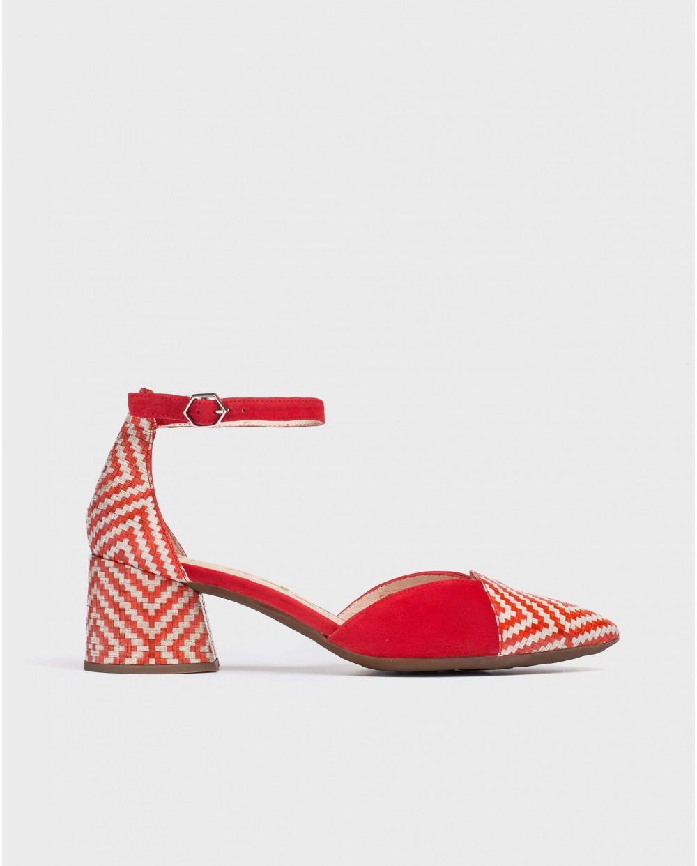 Wonders-Heels-High heeled shoe with ankle strap