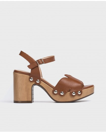 Wonders-Sandals-Plaited leather sandal