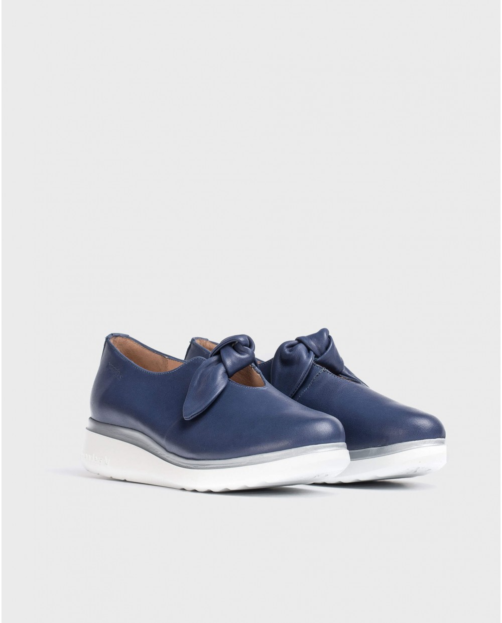 Wonders-Flat Shoes-Moccasins with bow detail