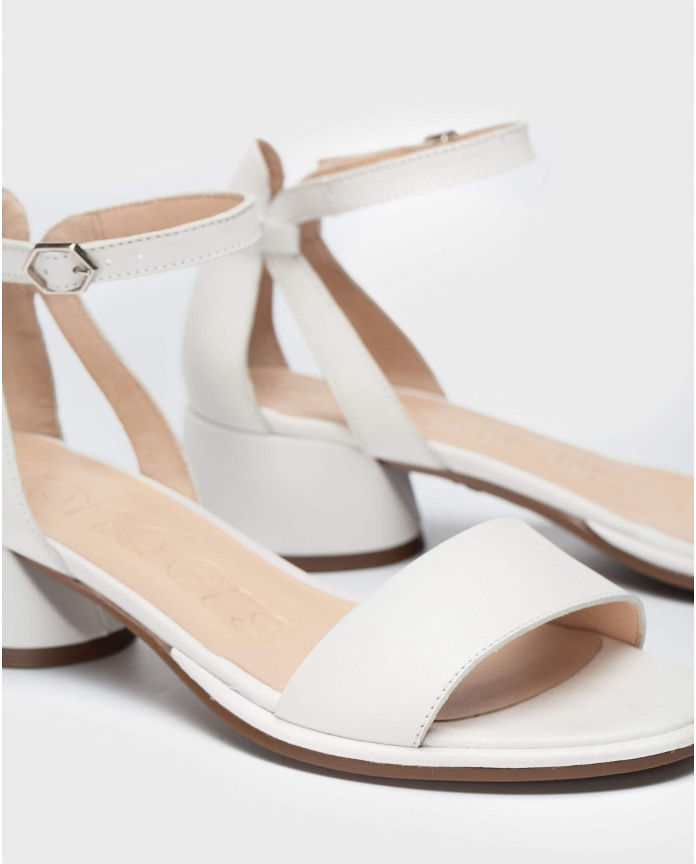 Wonders-Sandals-High heeled sandal with ankle strap
