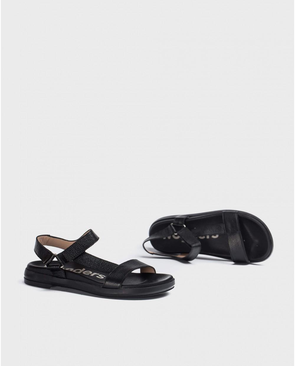 Wonders-Flat Shoes-BIO adjustable sandal