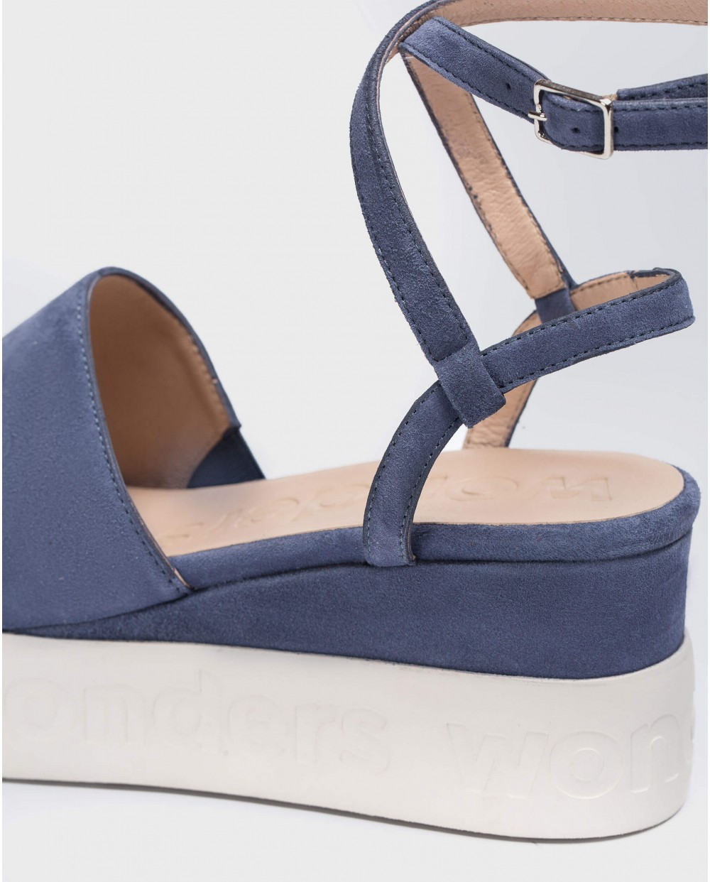 Wonders-Sandals-Sandal with double ankle strap