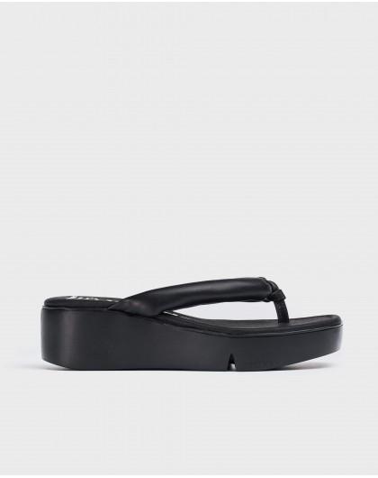Wonders-Sandalias-Sandalia cuña flip-flop