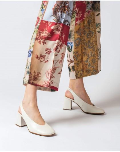 Wonders-Tacones-Zapato piel destalonado