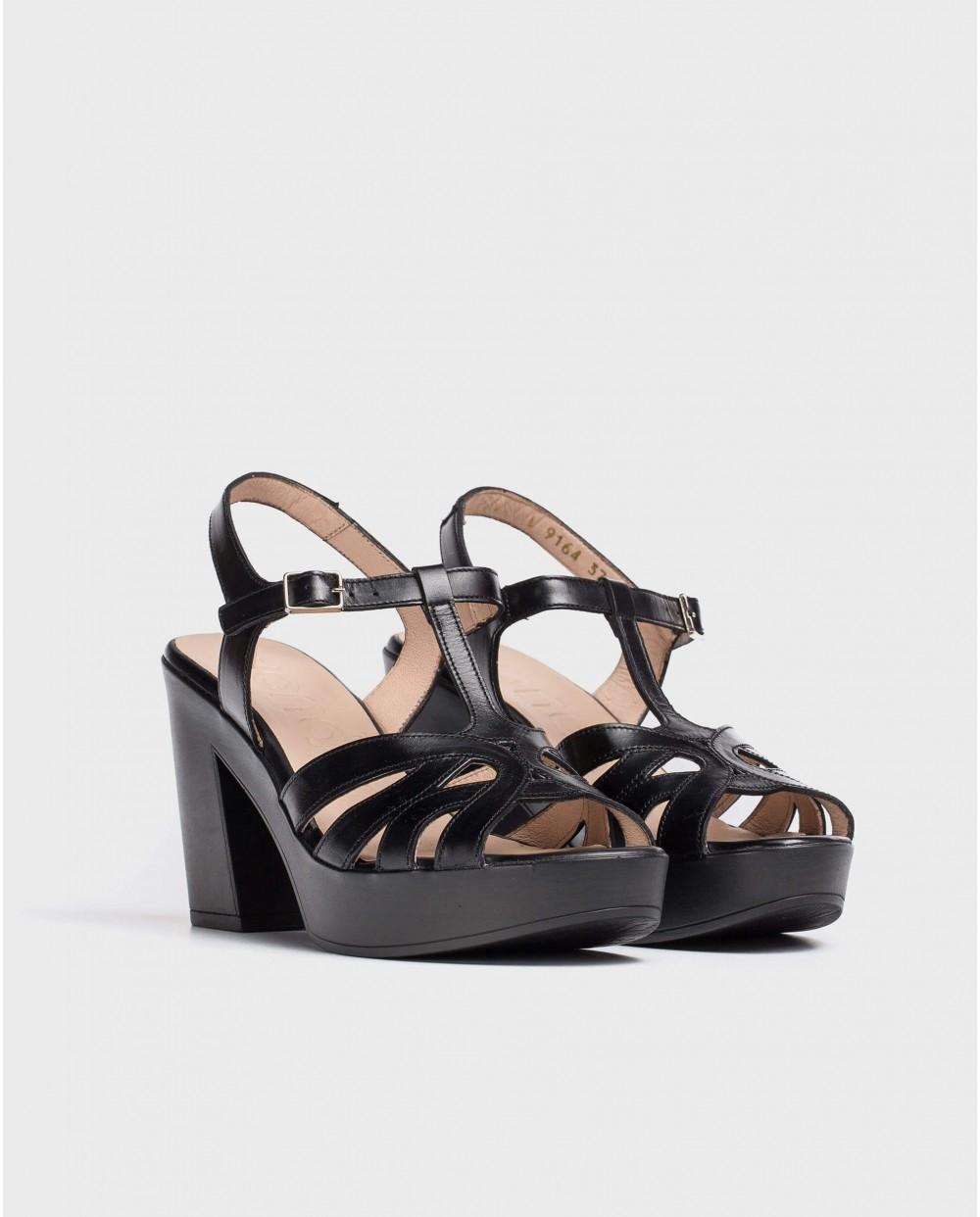 Wonders-Women-Strappy platform sandal