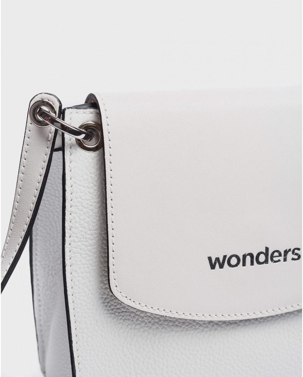 Wonders-Bags-Leather crossbody handbag