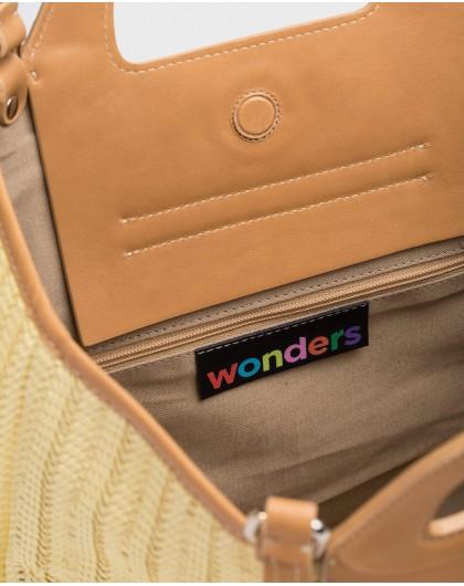 Wonders-Bags-Rafia shopper bag