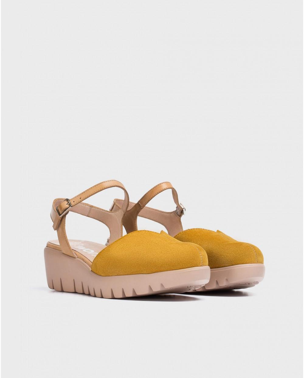 Wonders-Wedges-Wedge V sandal