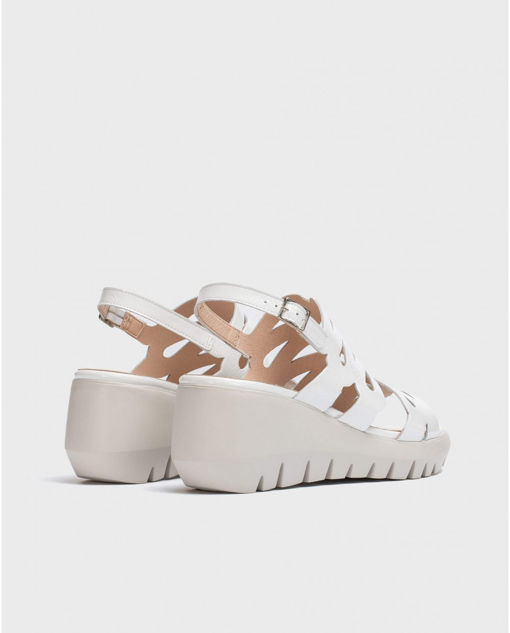 Wonders-Women-Sandal with wave straps