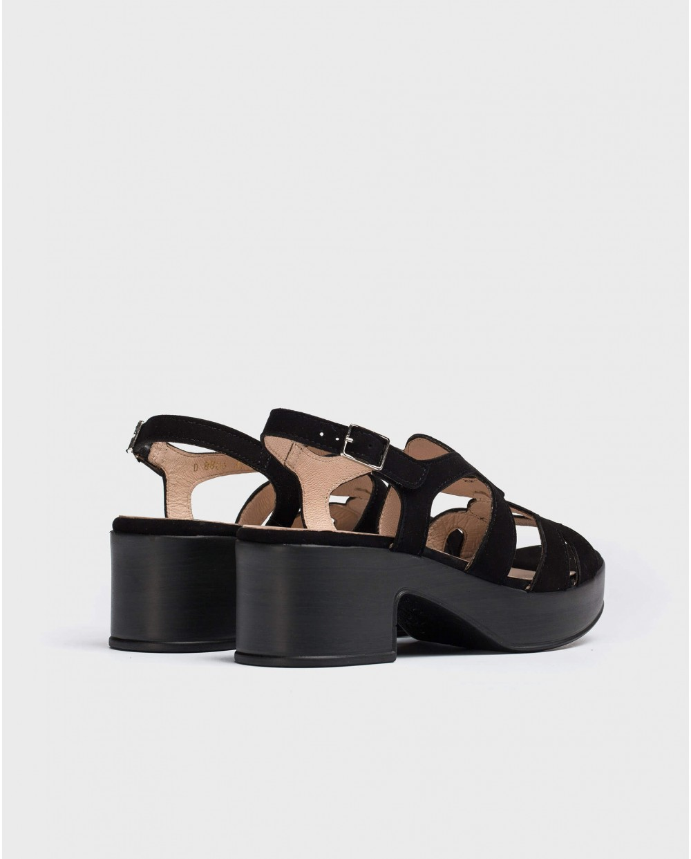 Wonders-Wedges-Cicular-cut sandal