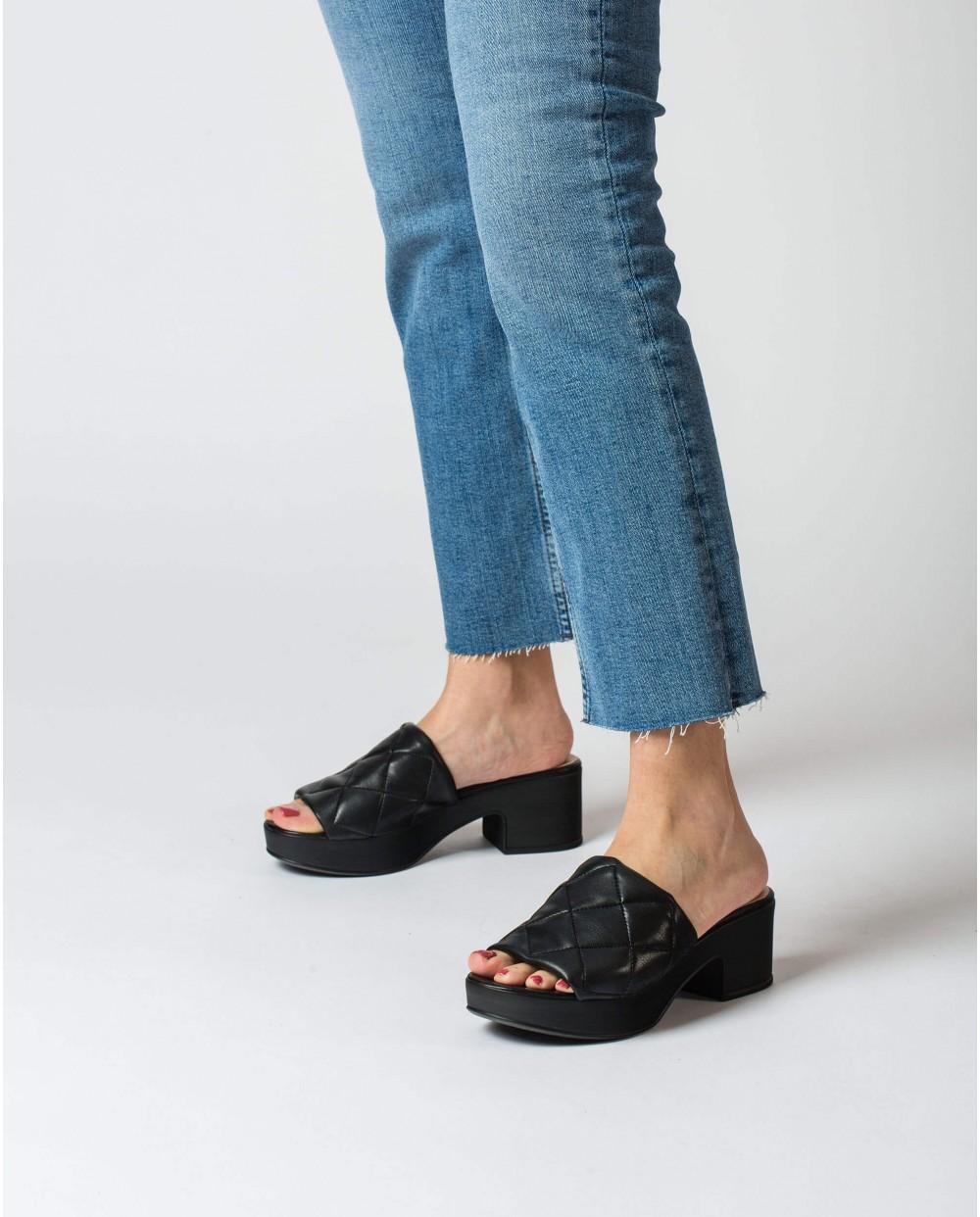 Wonders-Sandals-Padded clog