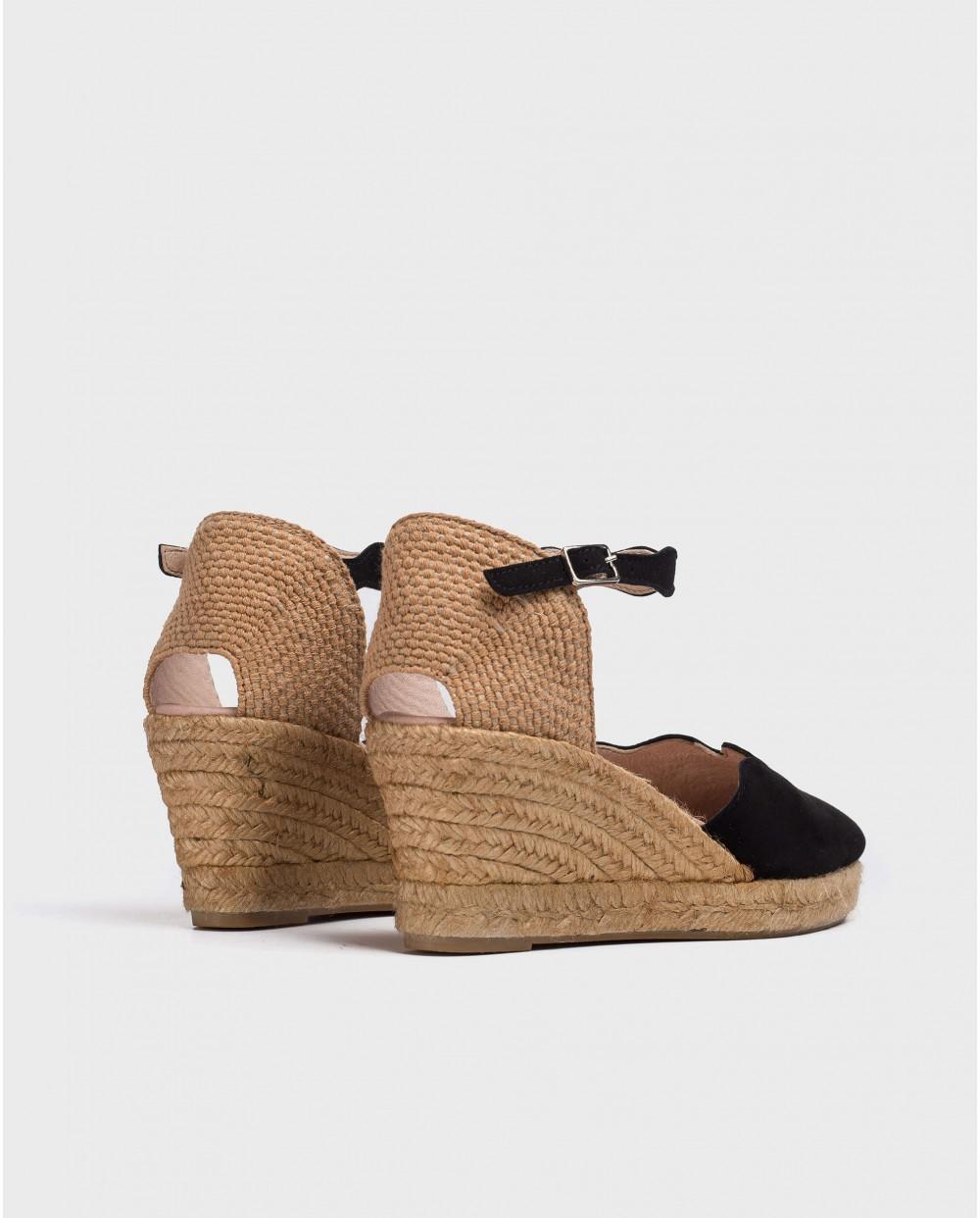Wonders-Wedges-Jute sandals