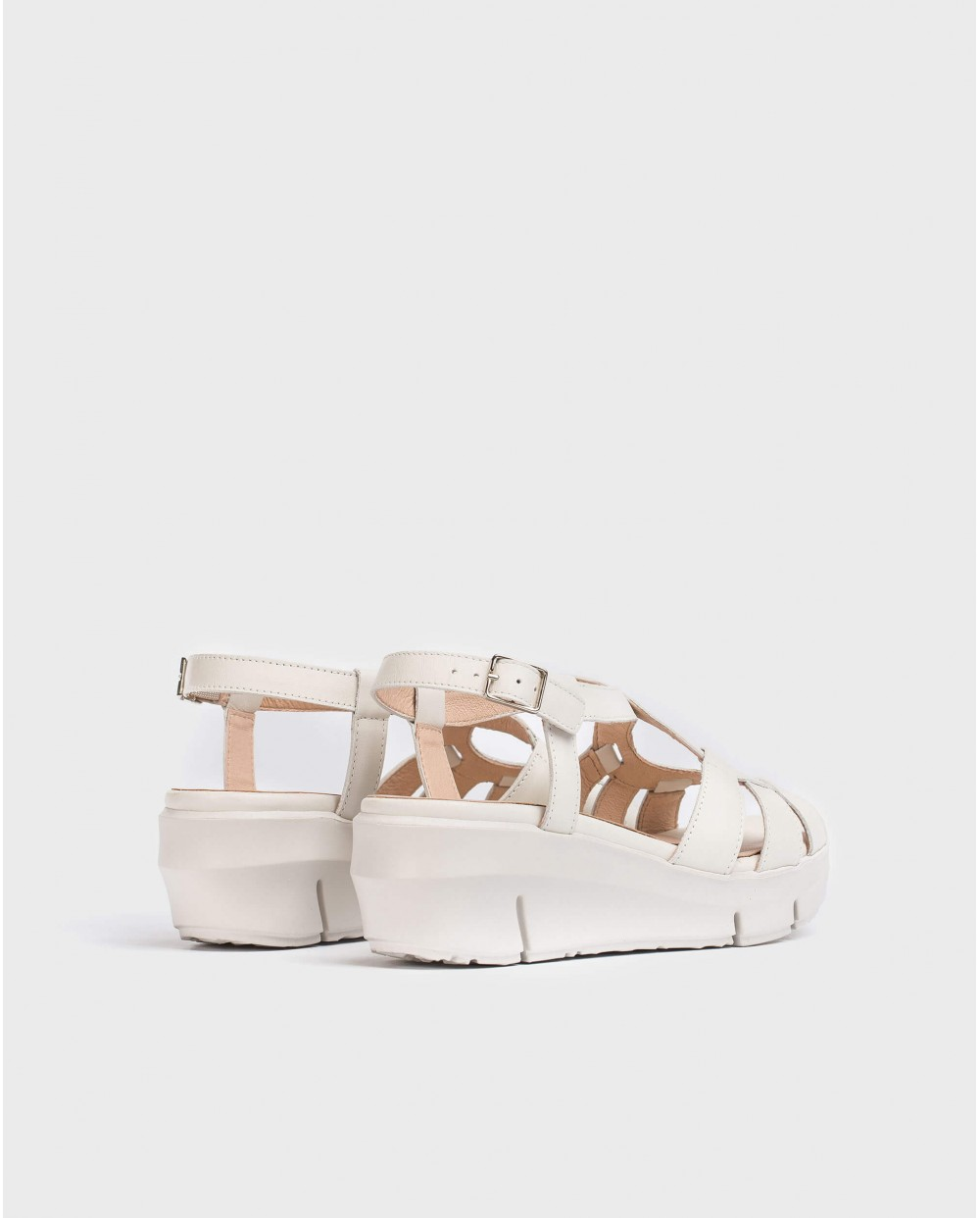 Wonders-Sandals-Sandal with criss-cross strap